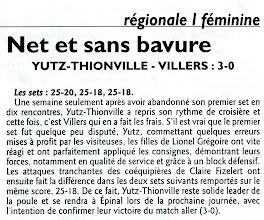 Photo: 21-01-2012 R1F ASVB - Villers-les-Nancy 3-0