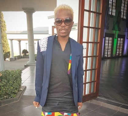 Somizi Mhlongo is grateful that his mom is still alive so he can spoil her.