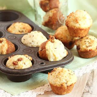 Mini Irish Soda Bread Muffins.