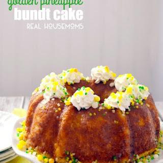 Pineapple Bunt Cake.