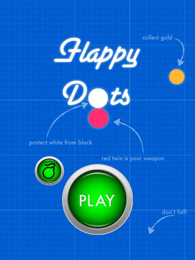 Flappy Dots - hop survival- screenshot