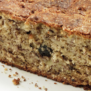 Blueberry Oat Banana Bread with Pecans Recipe
