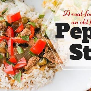 Pepper Steak Over Rice Recipe