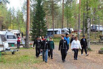 Photo: Lauantaiaamuna kävelylenkki Hietajärvellä...