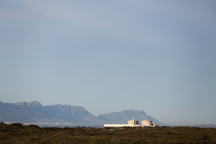 Koeberg, the only nuclear power station in Africa is seen in Cape Town, South Africa. File Photo