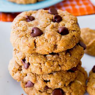 Flourless Peanut Butter Oatmeal Cookies.