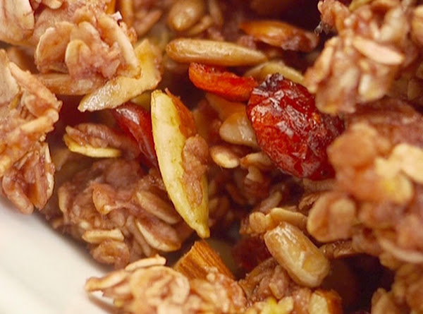 Cranberry Nut Granola Recipe