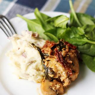 Instant Pot Garlic Chicken with White Wine & Dijon Mustard Cream Sauce.