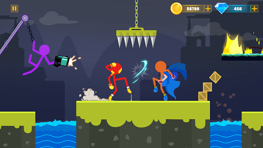 Supreme Stickman Battle Warrior: Duelist Fight apkmr screenshots 17
