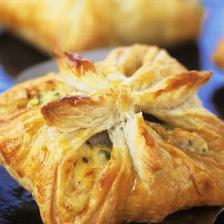 Fish and Egg Square Pasties