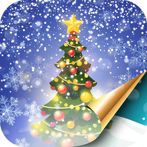 Christmas Tree Live Wallpaper With Snow Falling Apps Op