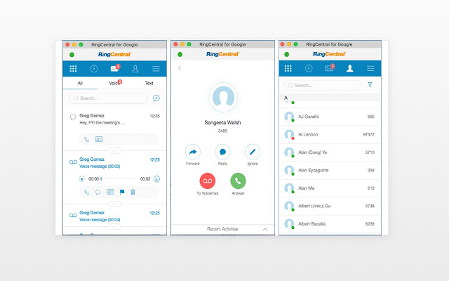 RingCentral for Google