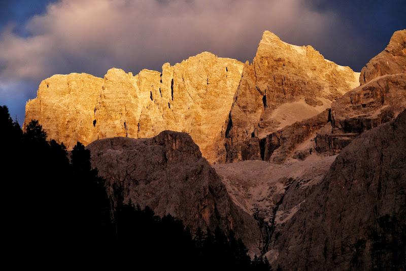Serata indimenticabile: il Sella al tramonto di Rossella13
