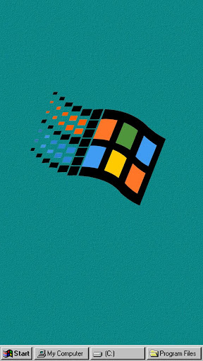 Windroid Theme for windows 95 PC Computer Launcher  screenshots 5