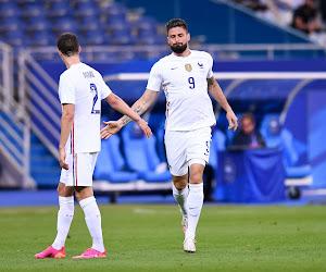 🎥 Giroud se rapproche encore d'Henry, la France s'impose sans forcer