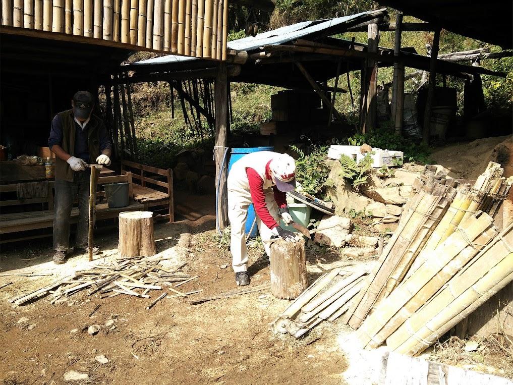 木っ端作り