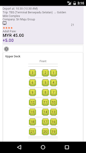 Sri Maju Bus Ticket screenshot 3