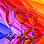 Rainbow Waves by Sam Sampson - Artistic Objects Glass ( reflection, pattern, glasses, colorful, rainbow )
