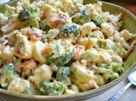 B/c Vegetable Salad Recipe