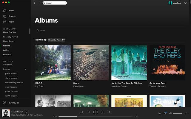 Spotify Desktop-ify
