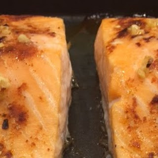 Sweet Chilli Salmon Fillets.