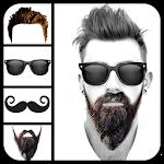Mustache Beard & Men Hairstyle Icon