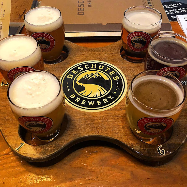 A flight awaits at Deschutes