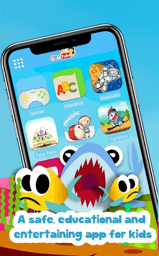 KidsTube - Youtube For Kids And Safe Cartoon Video 2.4 screenshots 1