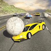 Aventador Drift Racing: Rolling Ball Crash