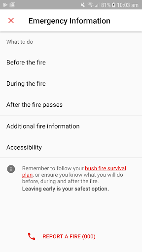 Fires Near Me NSW screenshot 5