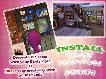 Masha game room decoration ツ screenshot