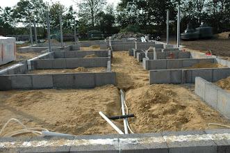 Photo: Der blev lavet central-støvsuger før vand og kloak var lavet færdigt.