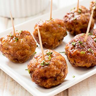 Five-Spice Appetizer Meatballs.