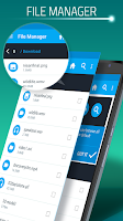 Screenshot of Download Manager for Android