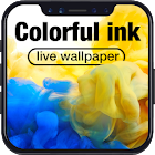 Colorful Ink Live Wallpaper for Free icon