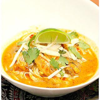 Thai Chicken Curry Soup.