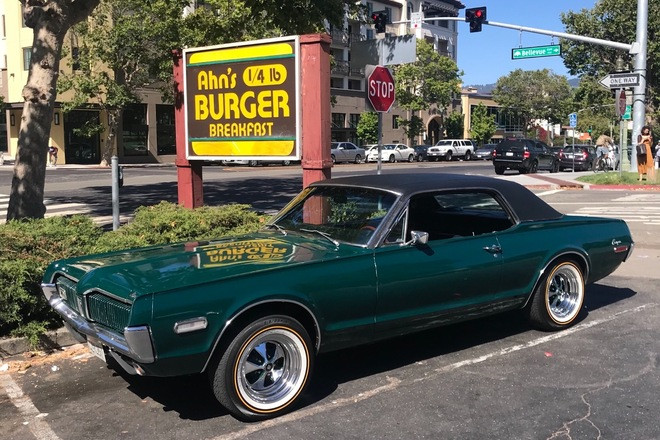 1968 Mercury Cougar Hire CA