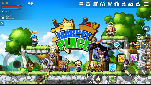 MapleStory M - Open World MMORPG android2mod screenshots 8