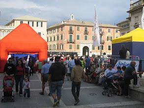 Photo: Allestimento in piazza - Savona 2008