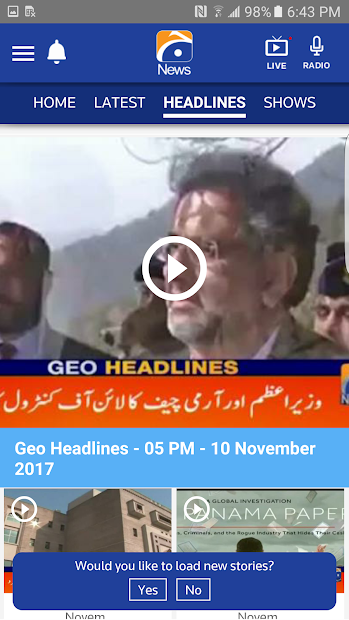 Geo News screenshot 5