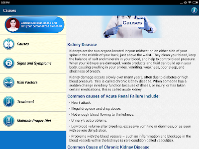 Renal Disease Kidney Diet Tips screenshot 7