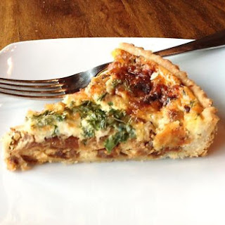 Caramelized Onion Quiche - Torta de Cebollas