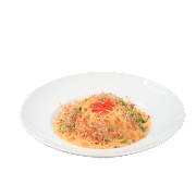 Crab Roe Mentaiko Spaghetti in Cream Sauce