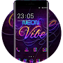 Neon light theme colorful brilliant wallpaper APK icon