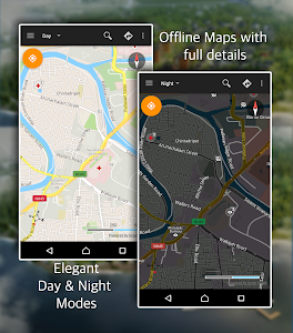 Offline Map Navigation screenshot 0