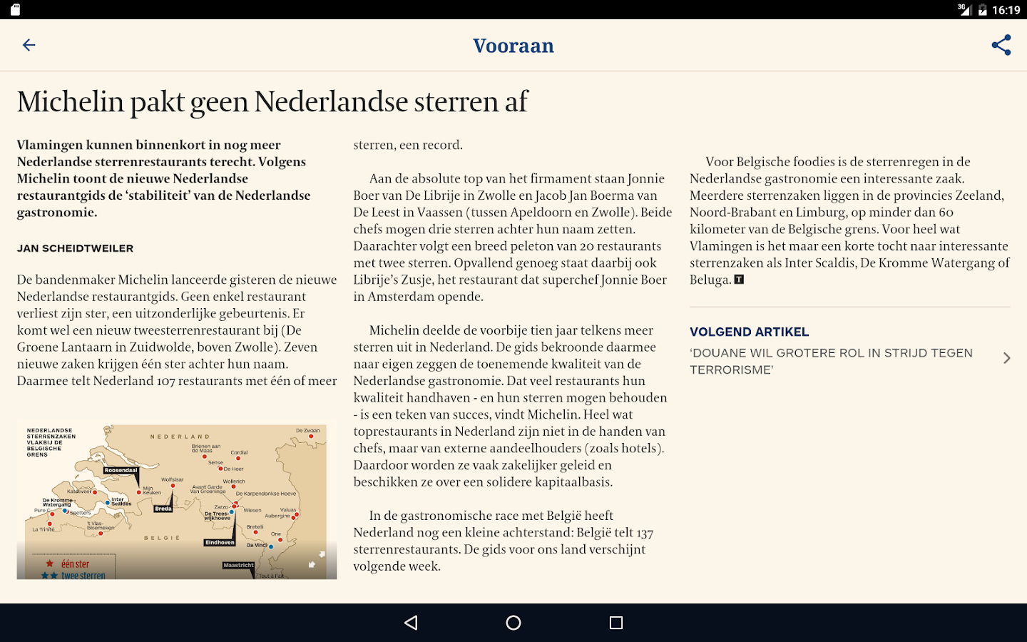 De Tijd- screenshot