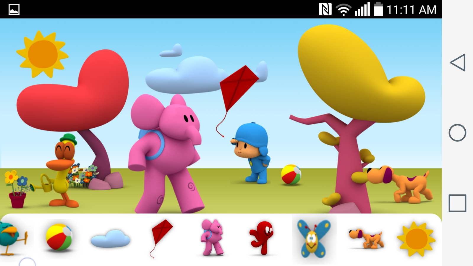 pocoyo wallpaper hd