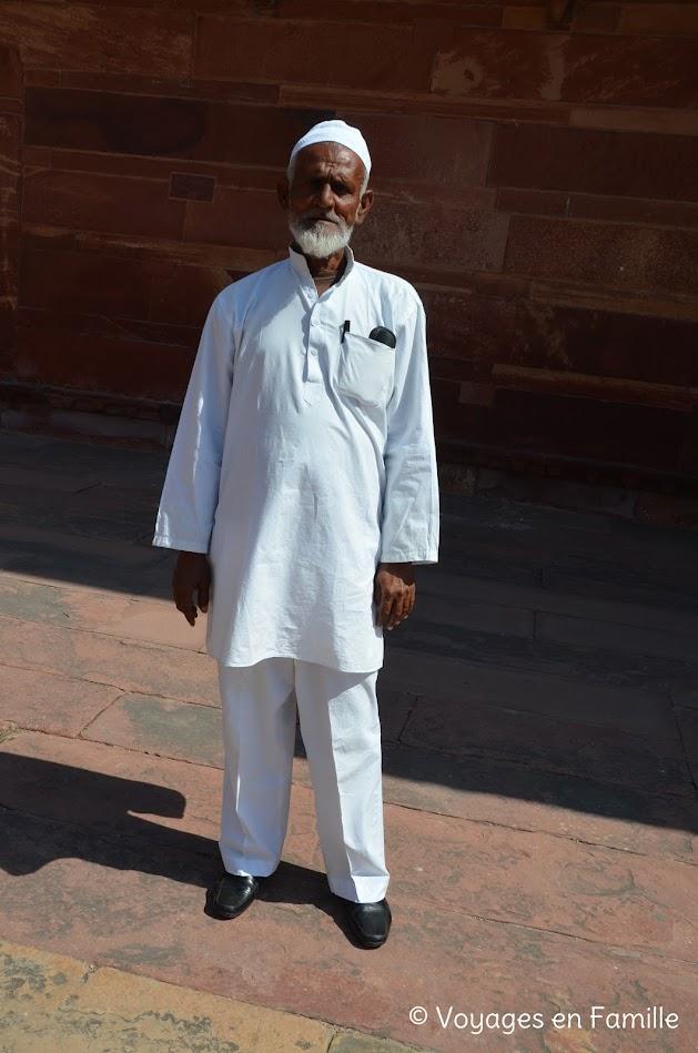 Notre guide, Fatehpur Sikri
