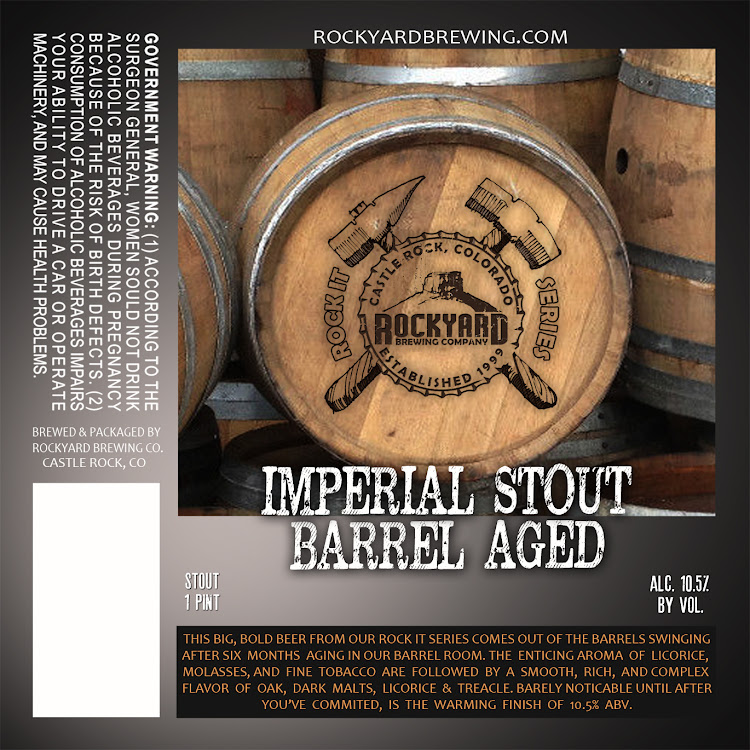 Logo of Rockyard Imperial Stout Barrel Aged