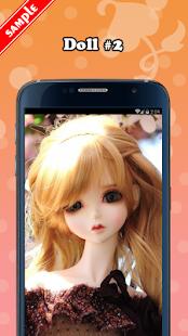 Cute Doll Wallpaper HD - náhled